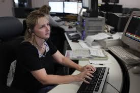 Dispatcher at work (Photo/Wikimedia Commons)