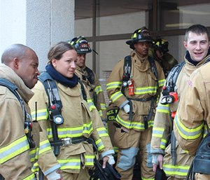 Diversity recruitment has been a challenge for the fire service for generations. (Photo/IAFF)