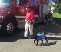Mich. responders aid in training service dogs for emergencies