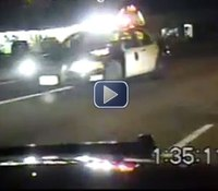 Video: Dorner ambush captured on dash cam, report released