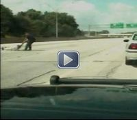 Video: Ohio cop pulls suicidal man from freeway during traffic stop