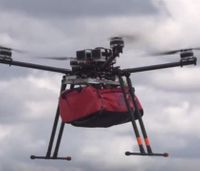 Inventors present drone that could help treat patients in disasters