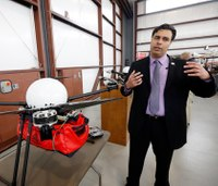 Researchers show off medical drones for disasters, shootings