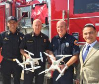 San Diego Fire Dept. launches one of nation's first IPP drone deployment