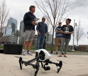 The grant will offer full or partial funding toward drone training for fire and police departments. (Photo/DARTdrones)