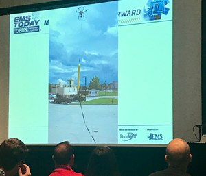 Presenters provided attendees with the latest research and real-world applications of drones in EMS, and how they could benefit public safety agencies in the future. (Photo/Kerri Hatt)