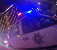 Video captures LEO helping colleague wounded in Vegas mass shooting