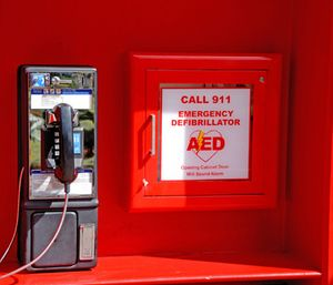 Christopher Smith and his team found that public access defibrillation is only used in 0.15 to 4.3 percent of out-of-hospital cardiac arrests. (Photo/Public Domain)