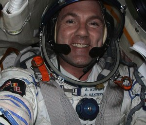 Dutch astronaut André Kuipers, who is at the International Space Station, was dialing a number via the Johnson Space Center switchboard when he missed a number and called 911. (Photo/ESA)