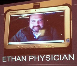 The Houston ETHAN project uses telemedicine to connect paramedics with low-acuity patients to emergency physicians. (Photo by Greg Friese)
