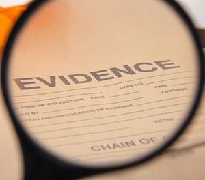 Evidence management software can make the property room run more efficiently, help preserve the chain of custody and provide alerts to dispose of evidence when it's no longer needed. (image/iStock)