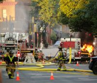 Firefighter killed, several others hurt in Wis. gas explosion