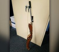 Police: Man tried to rob store with fake gun made from furniture