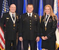 ND ambulance service awards first-ever 'Medals of Valor' to 2 paramedics