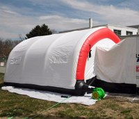 NY fire department buys cooling tent for first responders