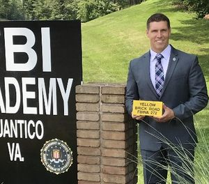 "The ""Yellow Brick Road"" is the final fitness challenge at the FBI National Academy. (Photo/Christian Quinn)"