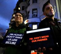 What does the Constitution say about the rights of law enforcement to obtain private data?