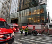 FDNY responds to small fire on roof of Trump Tower