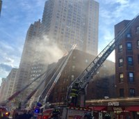 16 FDNY firefighters hurt in 5-alarm apartment fire