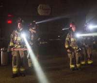 What's the average firefighter salary at the nation's largest departments?