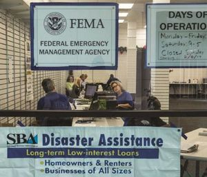 The First Responders Registration Intake gives first responders the opportunity to register for assistance when their work schedules allow. (Photo/FEMA)