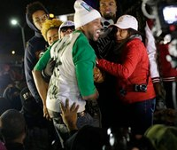 Ferguson crowd erupts in anger at no indictment