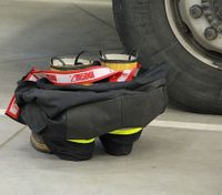 For firefighter feet, comfort is king