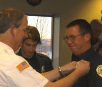 Son's death inspires father to become first responder