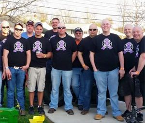 Firefighter beats cancer twice with big-time help from brotherhood