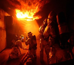 There are several considerations when choosing a firefighter accountability system. (Image Pixabay