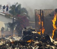 2 found dead in Southern Calif. wildfires