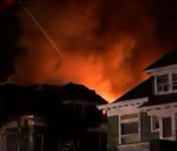 4 NJ firefighters hurt in fatal apartment fire