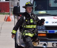 Emergency Incident Rehab for firefighters to refuel, recharge