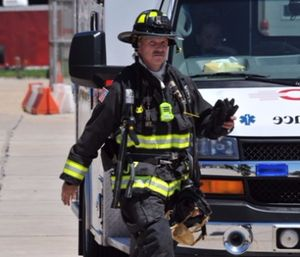 What do we do when we know we're going to be on scene for eight to 12 hours? Know your limitations and be on the lookout for signs of fatigue in other responders so that everyone goes home at the end of the incident. (photo/John M. Buckman III)