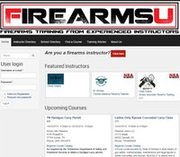 Retired cop's firearms directory aims to match instructors and students