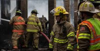 Why firefighters should decon with towelettes