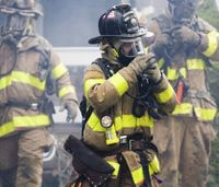 Scientists studying turnout gear for fluorinated chemicals