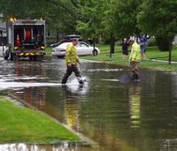 Ill. hospital evacuated after flooding, power outage