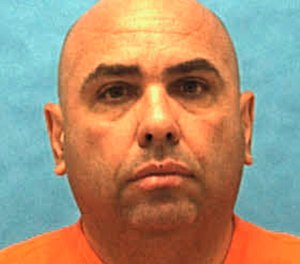 Jose Antonio Jimenez is scheduled to die by lethal injection Thursday, Dec. 13, 2018, for beating and stabbing to death an elderly woman in Miami-Dade County 26 years ago. (Florida Department of Law Enforcement via AP)
