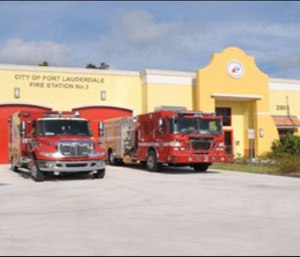 Lore has it that Fire Station No. 3 is haunted by several spirits. (Photo/Fort Lauderdale Fire Dept.)