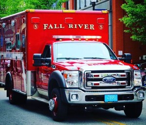 A Fall River Fire Department firefighter is on leave for allegedly making false 911 calls. (Photo/FRFD)