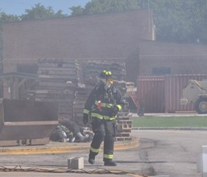 Preparing your body before a firefight is arguably just as important as caring for its needs during and after the fire. (Photo/John M. Buckman III)