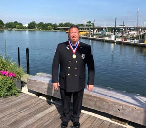 On June 5, DeLaTorre went to Lansing to be officially recognized by the state Senate and House of Representatives(Photo/ Southwestern Michigan Community Ambulance Service)