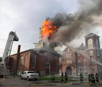 Fire destroys 165-year-old NY church