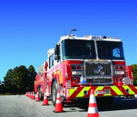 Behind the wheel of a fire truck: Training needed