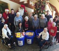 Seniors 'Fill the Ambulance' with over 2 tons of food