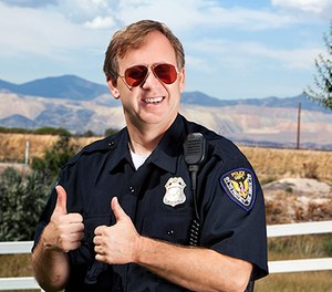 Officers are never truly off-duty. (iStock image)