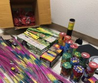 Newly-formed Calif. task force seizes 2.3K pounds of illegal fireworks