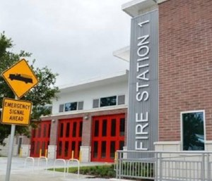Gainesville Fire Rescue's new downtown fire station will use new technology to help responders shave seconds off response times. (Photo/GFR_