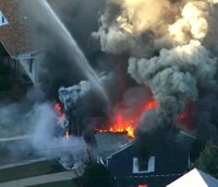 1 dead, at least 10 hurt in series of Mass. home gas explosions